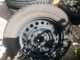 4 winter tires 195/65  r15