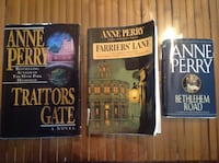Set of 3 Books by Anne Perry 188 mi