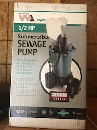 1/2HP Sump Pump SALEM