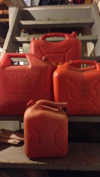 Gas containers.  Please call  [TL_HIDDEN]   will sell separately St Catharines, L2S