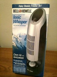 Ionic whisper air cleaner
