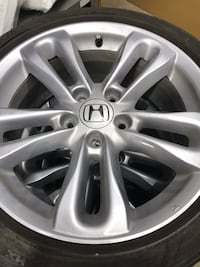 Set of 4 Civic Si wheels with Michelin tires 215/45/17 Oakville, L6H 2Y7