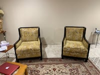 Set of 2 - Yellow accent chairs Dearborn, 48126