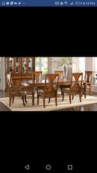 Pecan dining table set Winter Springs, 32708