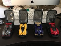 Anki drive mobile device ios/android racing game, with 4 cars not 2. Use the app to upgrade car stats and vehicle weapons and Bluetooth sound. Used a few times as kids went off to school Edmonton, T6C
