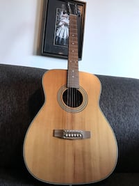 Cort Earth Series Acoustic with Capo and Strap  Toronto, M6H 4B2