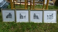 4 frame pictures 10 each Mississauga, L5L 2B4