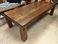 Coffee Table Hand Made From Douglas Firs / Solid Wood 60081