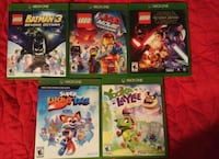 $16.00 EACH Xbox One Games Madera