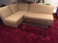 Sectional couch perfect for Condo and Apartments. Bought new and kept in smoke and pet free home.  Kensington, 20895