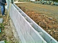 I build retaining walls any kind any side Baltimore