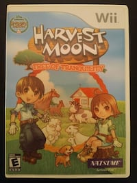 Nintendo Wii Harvest Moon Tree of Tranquillity Vaughan, L4L