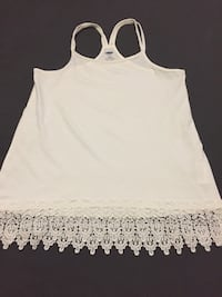 women's white spaghetti strap top Whitby, L1N 1W4