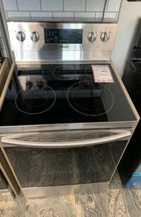 ✌New Samsung stainless electric glasstop stove- Farmingdale