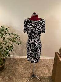 Black and white dress. Large Andover, 67002