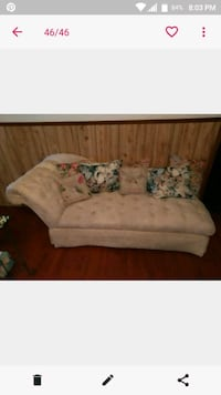 white and green floral fabric sofa Weslaco, 78596