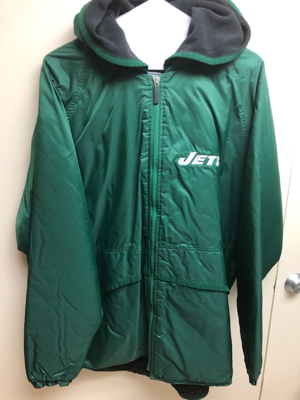 4ad6bda95b37 Used Nike NY Jets Jacket Stadium Coat - like new condition - Size L -  Vintage for sale in New York - letgo