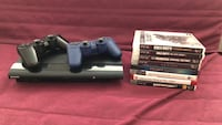 PS3 Slim w/two controllers and games New York, 10021
