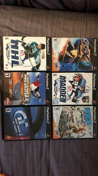 PS2 sports games