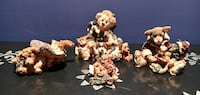 Lot of Christmas Boyd's Bears Figurines: # [TL_HIDDEN] GCC, Magnet & ornament Canton, 30114