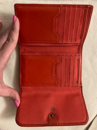 Orange fossil wallet  Brampton, L6V 4S8