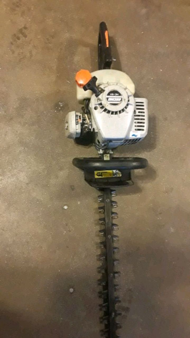 gray and black Craftsman gas string trimmer for sale  Bloomington