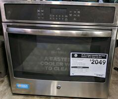 GE Convection Single Electric Wall Oven