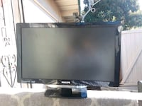black Samsung flat screen TV 2261 mi