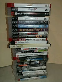 PS3 Action / Fighting Games - $5.00 each
