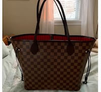 damier ebene Louis Vuitton leather tote bag New York, 10459