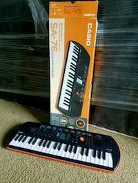 Casio SA-76 Portable Keyboard Kit Fairfax, 22032