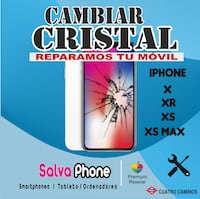 Cambiar Cristal iPhone MADRID