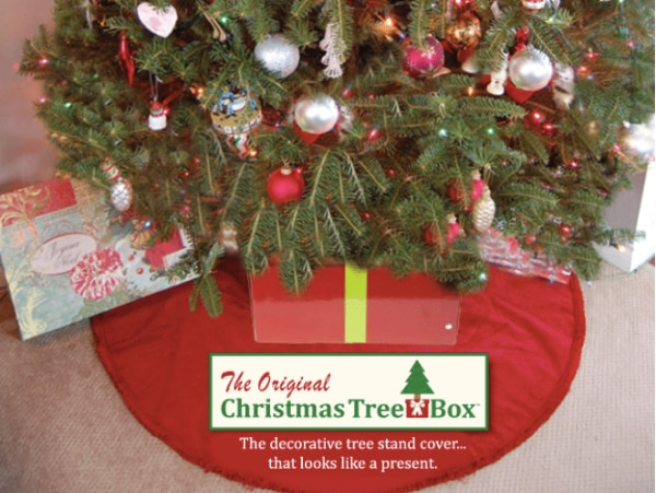 Christmas Tree Box Stand.Brand New Sealed The Tree Box Tree Stand Cover