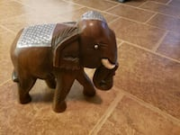 hand made wood elephant  Detroit