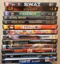 DVD Movie Lot 12 - Action Calgary, T2Z 4W6