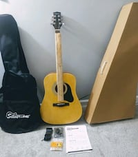 Silvertone Acoustic Guitar Package Brand new never Glendale Heights