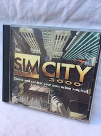 Sim City 3000 PC Game - 1998 - EA Games  Chicago, 60622
