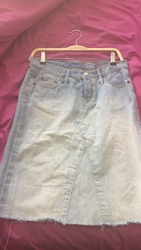 blue denim skirt Calgary, T2C