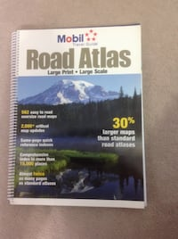 USA Travel Guide Large Print / Large Scale Road Atlas Toronto