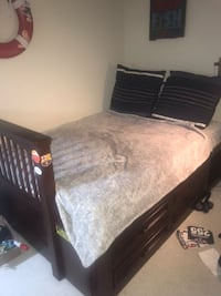 Double bed - price good for one day!
