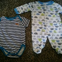 Baby boy outfits size 3-6  Vallejo, 94590
