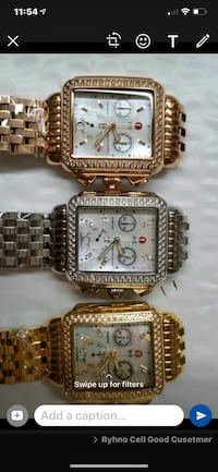 Luxury lady's watches in all styles and colors rose gold gold or silv
