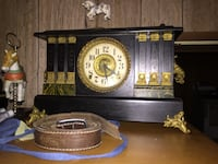 A really nice old clock works fine and chimes when it it suppose to York, 17408