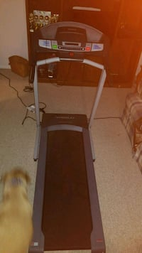 black and gray automatic treadmill Williamsport, 21795