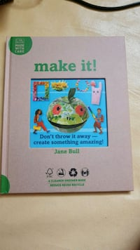 Book on crafts made with recycled materials  Toronto, M6R 2A6