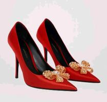 Versace V Bow Pumps - SHIPPING ONLY