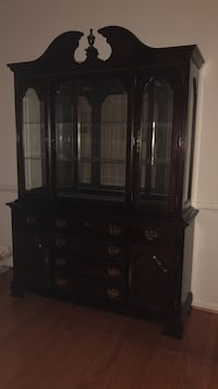 brown wooden china cabinet District Heights, 20747