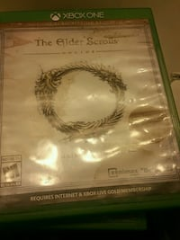 The Elder Scrolls V Skyrim Xbox 360 game case San Bernardino, 92405
