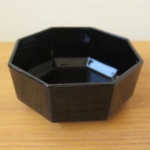 """NOW $15 from $25 *** 7 PC/SET VINTAGE Arcoroc Black 5-1/2"""" Salad/Cereal Bowls*IF AD'S UP, IT'S STILL AVAILABLE"""