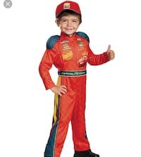 Cars toddler costume  Victorville, 92392